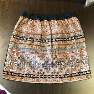 Wow Couture Embellished mini Skirt size S